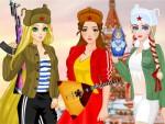 3 Rus Kızı Giydirme  Oyna