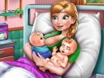 Anna İkiz Bebek Doğumu Oyna