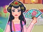 Asyalı Kızı Giydir Oyna