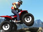 ATV Motorcu Dağda Oyna