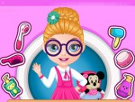 Barbie Bebek Okul Saçı Oyna
