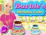 Barbie Doğum Günü Pastası Oyna