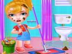 Barbie Ev Temizleme Oyna
