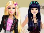 Barbie Rock Tarzı Giydirme Oyna