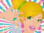 Barbie Yaz Makyajı Oyna