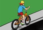 Bisikletli Çocuk Oyna