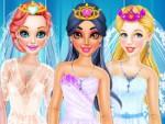 Disney Prensesi Gelinlik Giydirme Oyna
