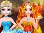 Elsa Ateş Kraliçesi Oyna