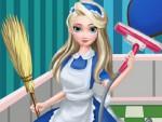 Elsa Ev Temizliği Oyna