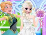 Elsa Gelinlik Giydirme Oyna