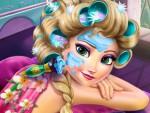 Elsa Makyaj Yapma ve Giydirme Oyna