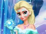 Elsa Makyajı Oyna