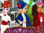 Elsa Moana ve Rapunzel Giydirme Oyna