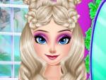 Elsa Saç Yapma Oyna