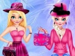 Elsa ve Anna Giydirme Oyna