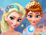 Elsa ve Anna Makyaj Oyna