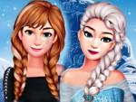Frozen Kardeşler Giydirme ve Makyaj Oyna