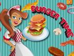 Hamburger Hazırlama Oyna