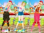 Kaykaycı Barbie Giydirme Oyna