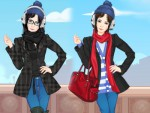 Kış Elbiseleri Giydirme Oyna