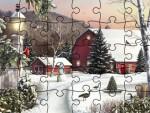 Kış Manzaralı Yapboz Oyna