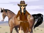 Kovboy Kızı Giydir Oyna