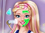 Liseli Kız Makyajı Oyna