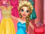 Prenses Elsa Giydirme Oyna