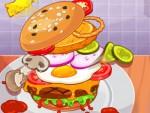 Puanlı Hamburger Yapma Oyna