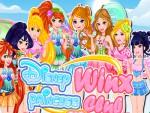 Winx Kızı Giydir Oyna