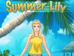 Yaz Kızı Lily Giydirme Oyna