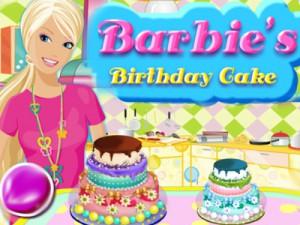 Barbie Dogum Gunu Pastasi Oyunu Oyna