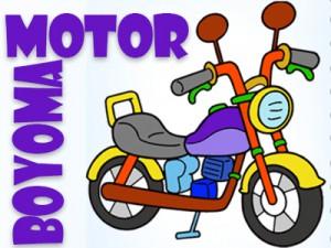 Motosiklet Boyama Oyunu Oyna