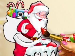 Noel Baba Boyama Oyunu Oyna