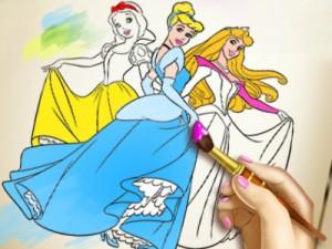 Prenses Boyama 2 Oyunu Oyna