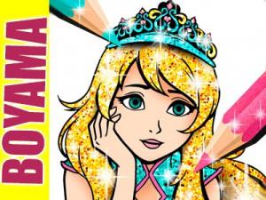 Prenses Boyama Kitabi Oyunu Oyna