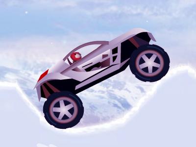 Buz Arabası Oyna