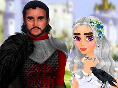 Dragon Kraliçesi Gelinlik Giydirme