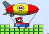 Mario Uçan Balon Oyna