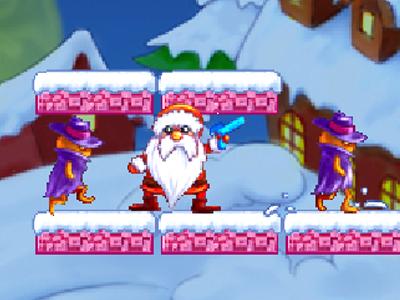Noel Baba Savaşta Oyna