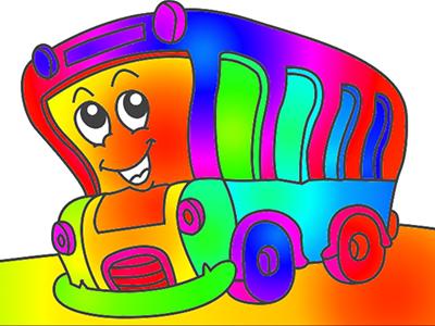 Otobüs Boyama Oyna